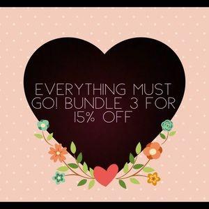 ⭐️ Bundle and save 💰 💰